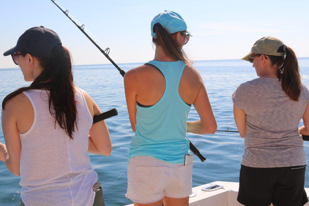 No longer afraid of deep sea fishing