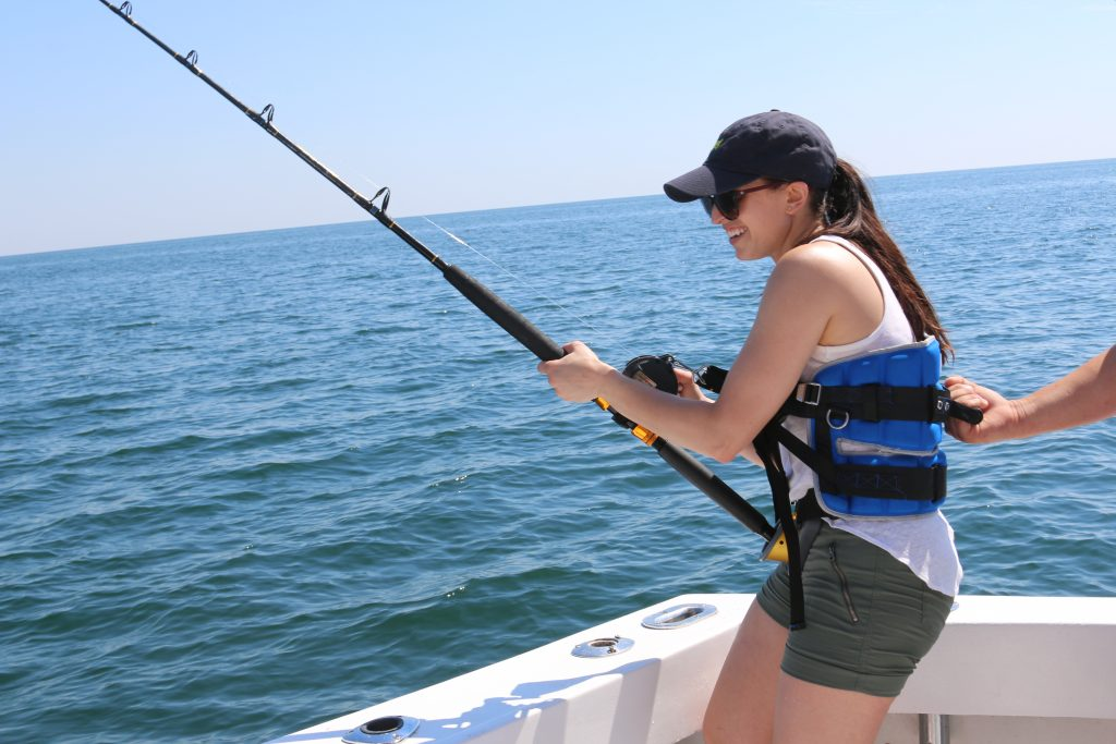no longer afraid of deep sea fishing Ocean Ox Charter