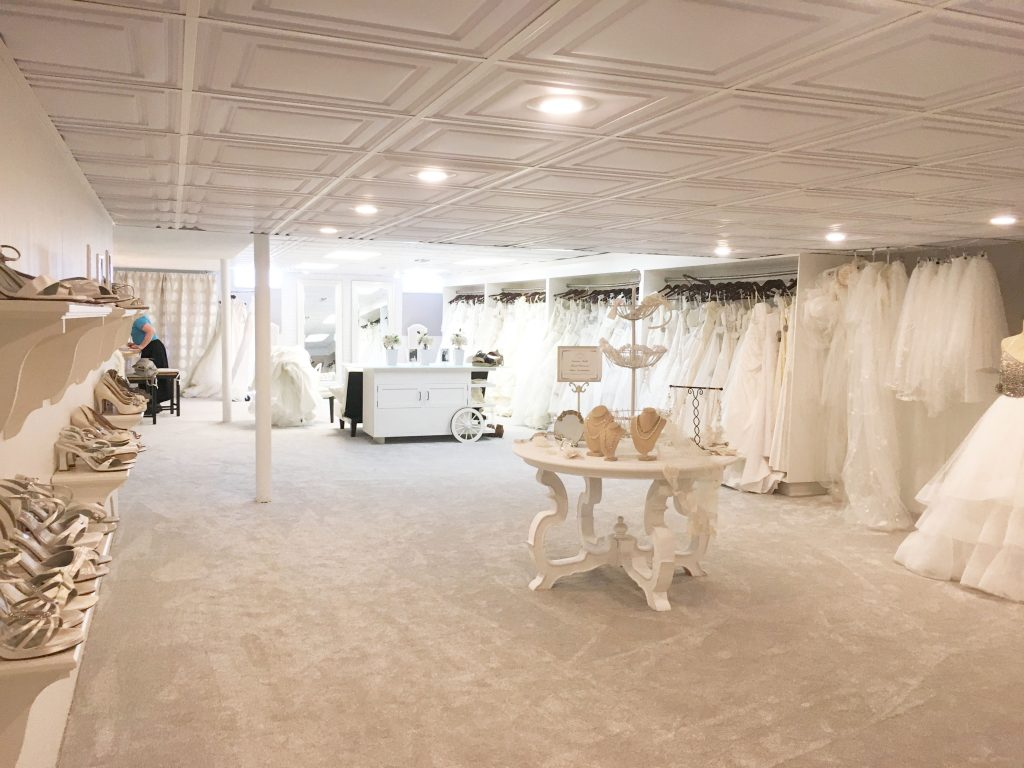72aab86d5ee30 Walking into New Name Bridal Boutique Reveals a Stunning Space Full of Bridal  Wear